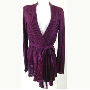 Knitted & Knotted Anthro Long Embrace Wrap